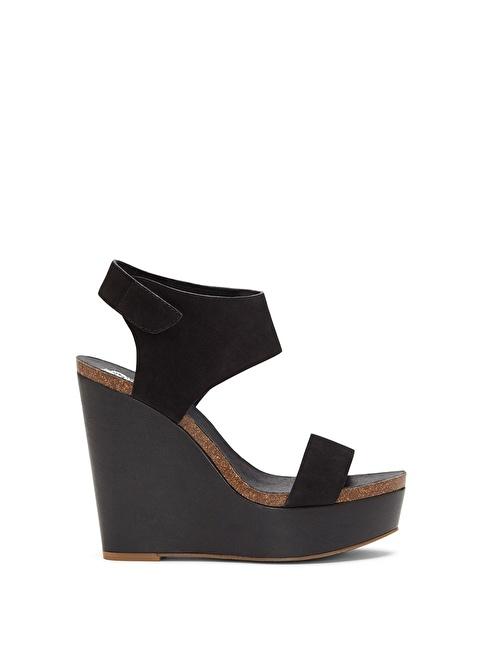 Vince Camuto %100 Deri Sandalet Siyah